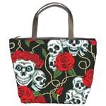 Skulls & Roses Bucket Bag