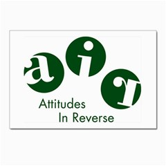 A.I.R. Attitudes In Reverse Postcard 4  x 6  from Attitudes In Reverse Front