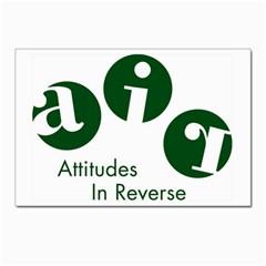 A.I.R. Attitudes In Reverse Postcards 5  x 7  (Pkg of 10) from Attitudes In Reverse Front