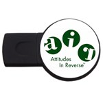 A.I.R. Attitudes In Reverse USB Flash Drive Round (2 GB)