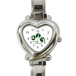 A.I.R. Attitudes In Reverse Heart Italian Charm Watch