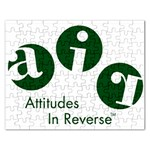 A.I.R. Attitudes In Reverse Jigsaw Puzzle (Rectangular)
