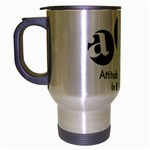 A.I.R. Attitudes In Reverse Travel Mug (Silver Gray)