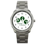 A.I.R. Attitudes In Reverse Sport Metal Watch