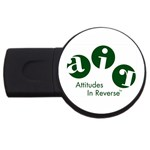 A.I.R. Attitudes In Reverse USB Flash Drive Round (4 GB)