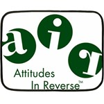 A.I.R. Attitudes In Reverse Mini Fleece Blanket(Two Sides)