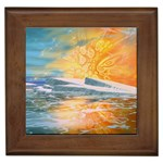 Fantasy Acid Iceberg Surprise Framed Tile