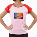 Fantasy Acid Iceberg Surprise Women s Cap Sleeve T-Shirt