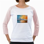 Fantasy Acid Iceberg Surprise Girly Raglan