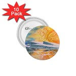 Fantasy Acid Iceberg Surprise 1.75  Button (10 pack)
