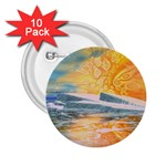 Fantasy Acid Iceberg Surprise 2.25  Button (10 pack)