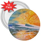 Fantasy Acid Iceberg Surprise 3  Button (10 pack)