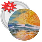 Fantasy Acid Iceberg Surprise 3  Button (100 pack)
