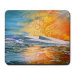 Fantasy Acid Iceberg Surprise Large Mousepad
