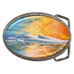 Fantasy Acid Iceberg Surprise Belt Buckle