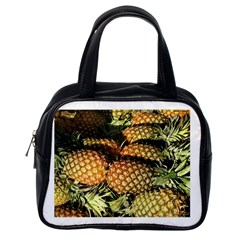 Pineapple Fruit in Pile Classic Handbag (One Side) from DesignMonaco.com Front