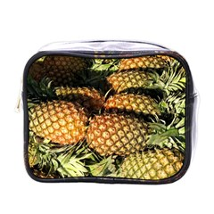 Pineapple Fruit in Pile Mini Toiletries Bag (One Side) from DesignMonaco.com Front