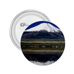 Mount Fuji in Japan 2.25  Button from DesignMonaco.com Front