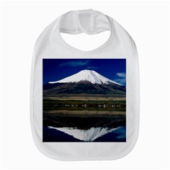 Mount Fuji in Japan Bib from DesignMonaco.com Front