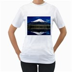 Mount Fuji in Japan Women s T Front