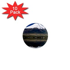 Mount Fuji in Japan 1  Mini Magnet (10 pack)  from DesignMonaco.com Front