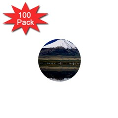 Mount Fuji in Japan 1  Mini Button (100 pack)  from DesignMonaco.com Front