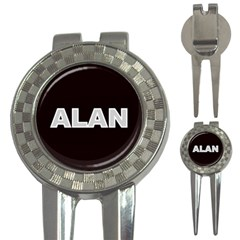 Alan Name Monogram 3 Front