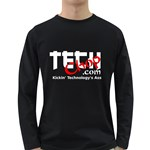 TechChop Long Sleeve Dark T-Shirt