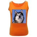 Alaskan Malamute Women s Dark Tank Top