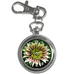 Beautiful Flowers Key Chain Watch