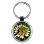 Beautiful Flowers Key Chain (Round)