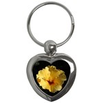 Yellow Flower Key Chain (Heart)