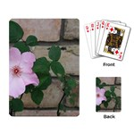 Climbing Flower Playing Cards Single Design