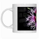 Wispy Flower White Mug