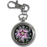 Wispy Flower Key Chain Watch