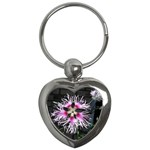 Wispy Flower Key Chain (Heart)