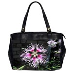 Wispy Flower Oversize Office Handbag (Two Sides)