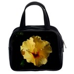 Yellow Flower Classic Handbag (Two Sides)
