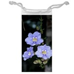 Blue Flowers Jewelry Bag