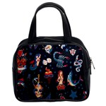 Tattoo Classic Handbag (Two Sides)
