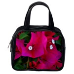 Pink Bougainvillea  Classic Handbag (One Side)