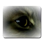 vinni s eye vignette Large Mousepad