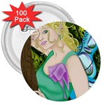 Forgotten Summer 3  Button (100 pack)