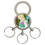 Forgotten Summer 3-Ring Key Chain