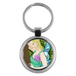 Forgotten Summer Key Chain (Round)