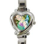 Forgotten Summer Heart Italian Charm Watch