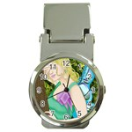 Forgotten Summer Money Clip Watch