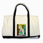 Forgotten Summer Two Tone Tote Bag