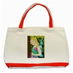Forgotten Summer Classic Tote Bag (Red)