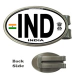 IND - India Euro Oval Money Clip (Oval)